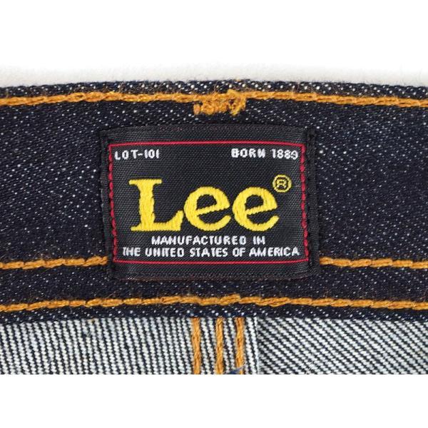 リー 101 USA Lee 101R ナロースリム 17oz KCドライ (アメリカ製 米国製 MADE IN USA 生デニム セルビッジ ヘビーオンス)|jalana|09