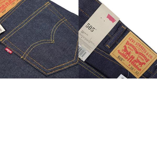 リーバイス LEVI'S 505-0217 オリジナル ジップフライ ストレート ジーンズ リジッド (防縮 生デニム USAライン レギュラーフィット)|jalana|06