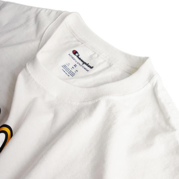 Tシャツ メンズ 半袖 マクドナルド 別注 チャンピオンボディ サンタモニカ店限定 波乗りドナルド ホワイト 大きいサイズ (McDonald's 海外買い付け商品) jalana 04