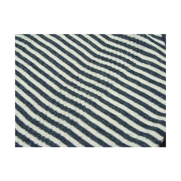 R.P.ミラー R.P. MILLER タンクトップ PAN-A ナローストライプ チャコール/ナチュラル (アメリカ製 米国製 TANKTOP NARROW STRIPE CHARCOAL/NATURAL)|jalana|03