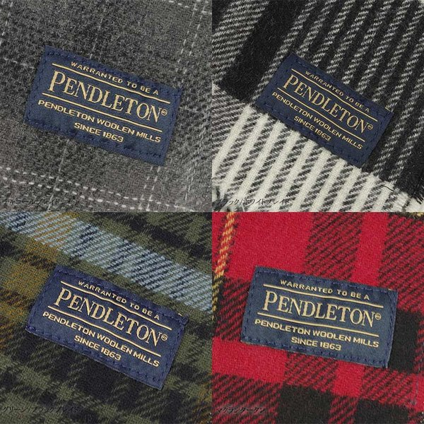 ペンドルトン PENDLETON ウィスパー ウール マフラー (米国製 アメリカ製 スカーフ WHISPER WOOL MUFFLER)|jalana|05