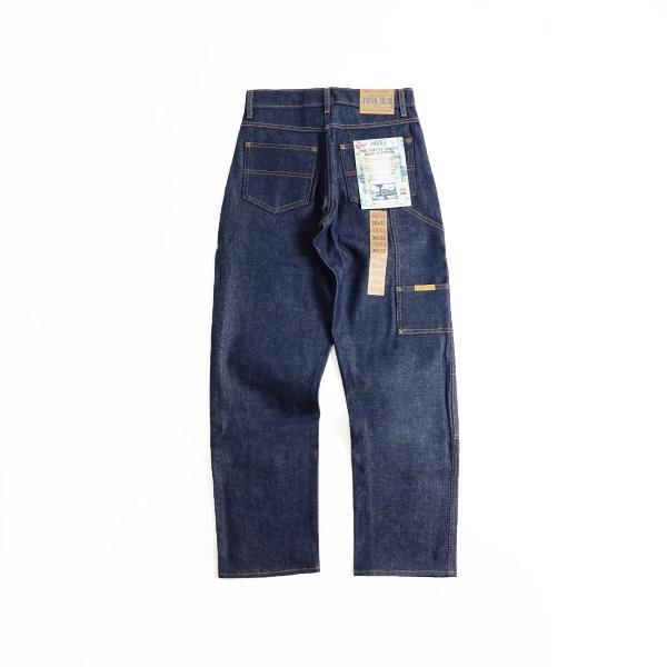プリズンブルース PRISON BLUES ダブルニーワークジーンズ リジッドブルー (アメリカ製 米国製 デニム ペインターパンツ) jalana 04