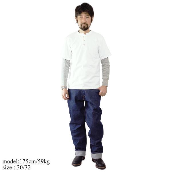 プリズンブルース PRISON BLUES ワークジーンズ リジッドブルー (アメリカ製 米国製 デニム ペインターパンツ)|jalana|02