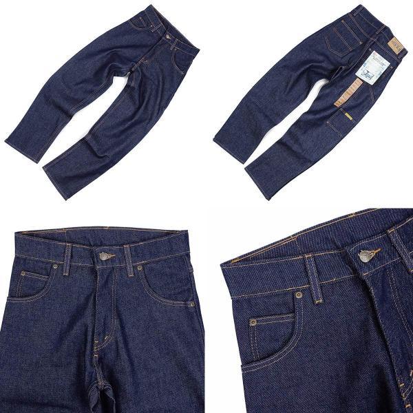 プリズンブルース PRISON BLUES ワークジーンズ リジッドブルー (アメリカ製 米国製 デニム ペインターパンツ)|jalana|04