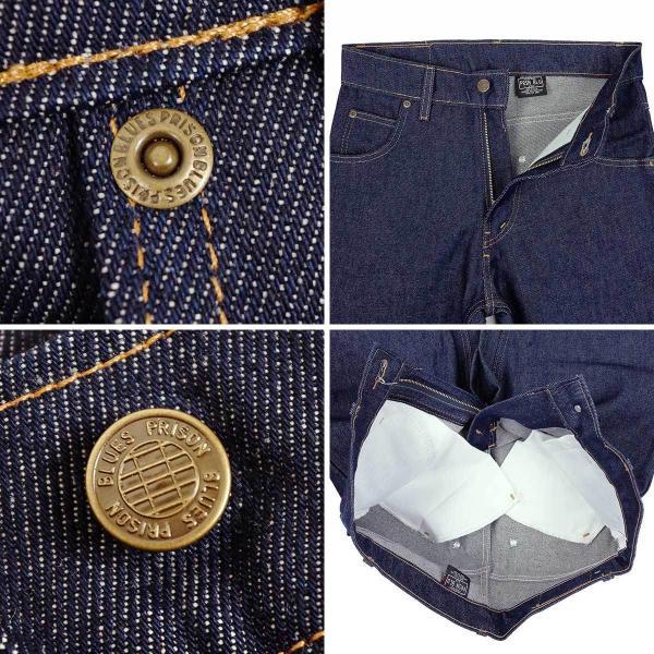 プリズンブルース PRISON BLUES ワークジーンズ リジッドブルー (アメリカ製 米国製 デニム ペインターパンツ)|jalana|05