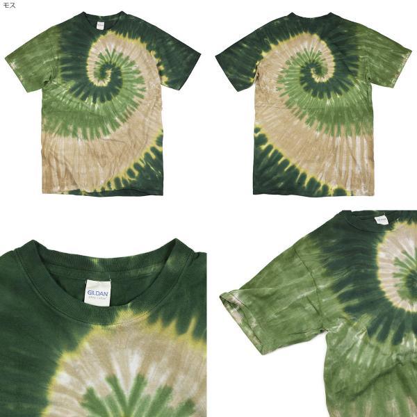 Tシャツ メンズ 半袖 サンドッグ タイダイ (SUNDOG サンドッグシャツ 絞り染め 手染め)|jalana|04