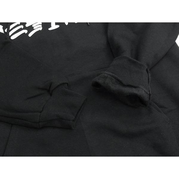 スラッシャー マガジン THRASHER フードスウェット プルオーバー スケート アンド デストロイ ブラック(パーカー SKATE AND DESTROY)|jalana|04