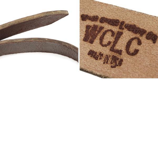 WCLC ウエストコーストレザーカンパニー ヘビーサドルレザーベルト アメリカ製 米国製 (4.5〜5mm厚 West Coast Leather Company MADE IN USA)|jalana|05