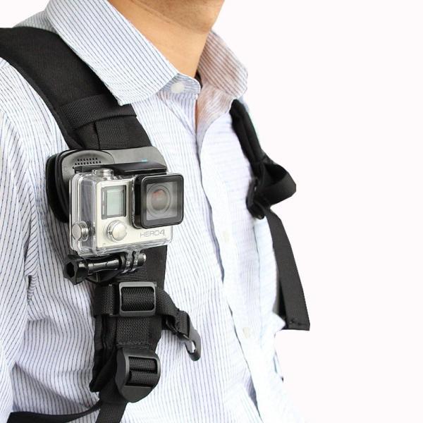 GoPro ゴープロ アクセサリー アクションカメラ全般対応 クリップ式 マウント 360度 回転  送料無料 おすすめ ポイント消化 jam-pack