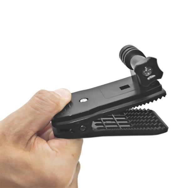 GoPro ゴープロ アクセサリー アクションカメラ全般対応 クリップ式 マウント 360度 回転  送料無料 おすすめ ポイント消化 jam-pack 03