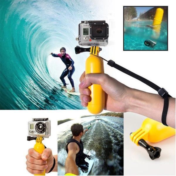 GOPRO 自撮り棒 ゴープロ HERO5 HERO6 アクセサリー 水中 アクションカメラ 防水 プール 海 フロート 本体 送料無料 ポイント消化|jam-pack