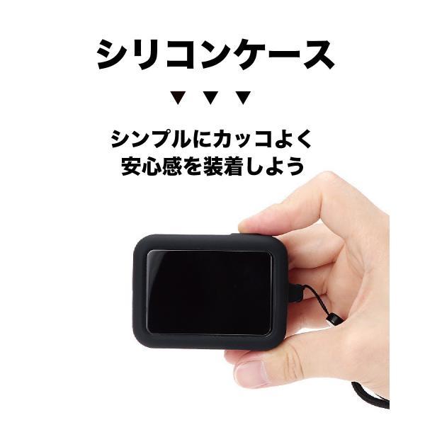 GoPro8 GoPro HERO8 ゴープロ8 アクセサリー セット 自撮り棒 フィルム ケース 3点 シリコン カバー 3way 三脚 棒 ガラス レンズ カメラ 送料無料 説明書付き 8|jam-pack|08