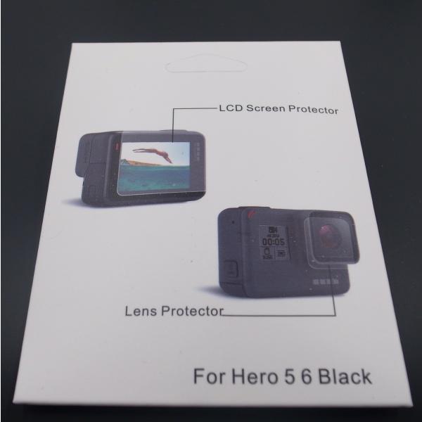 GoPro ゴープロ ゴープロ7 アクセサリー HERO7 HERO6 HERO5 専用 両面 保護フィルム レンズカバー セット 自撮り棒 ポイント消化 送料無料 アクセ 5 6 7 説明書 jam-pack 07