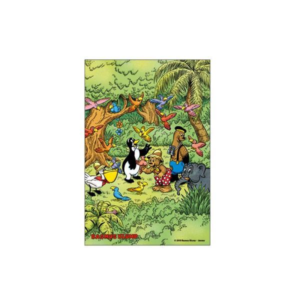 ラスムス ポストカード(ジャングル)|jammy-store