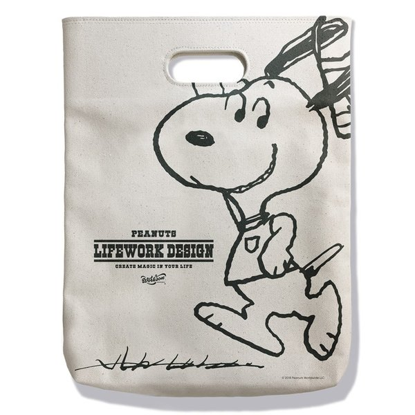 Peanuts Life Work Design WITH ME TOTE|jammy-store|02