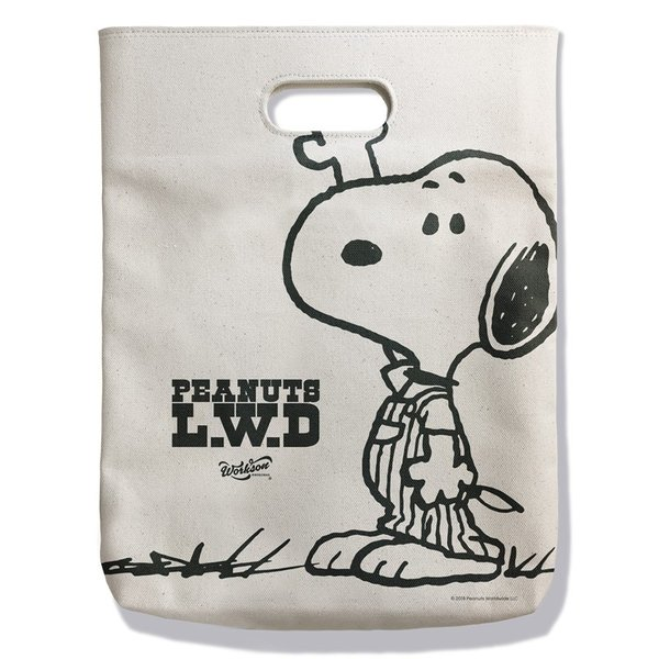Peanuts Life Work Design WITH ME TOTE|jammy-store|03