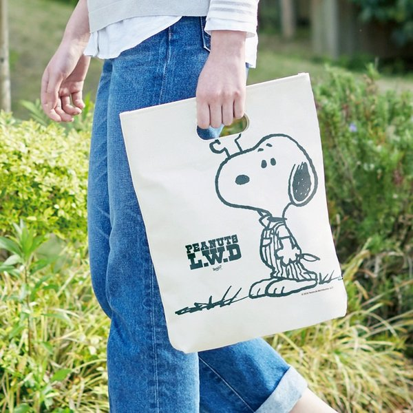 Peanuts Life Work Design WITH ME TOTE|jammy-store|06