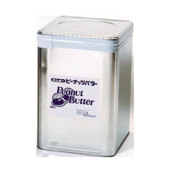 ピーナッツバター 工場直送 業務用サイズ カンピー ピーナッツバター無糖・無塩 18kg