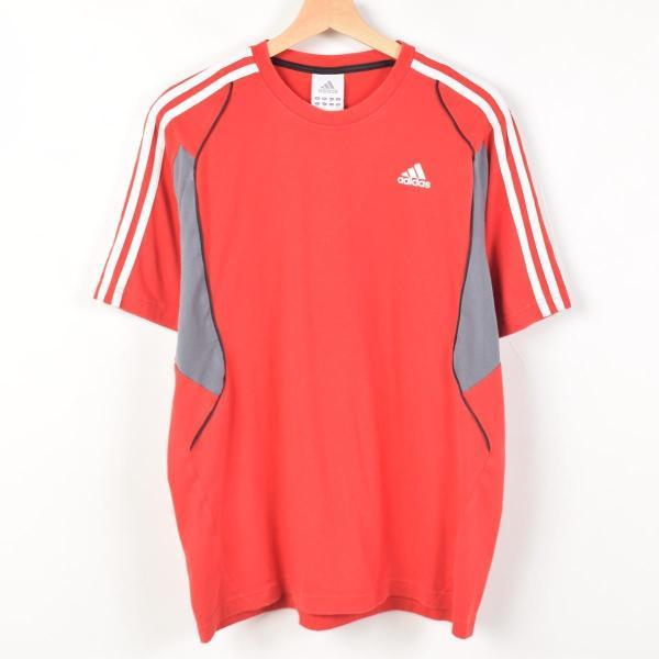 アディダス adidas ワンポイントロゴTシャツ メンズM 【中古】 【170611】 /wah4940|jamtrading1