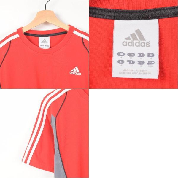 アディダス adidas ワンポイントロゴTシャツ メンズM 【中古】 【170611】 /wah4940|jamtrading1|03