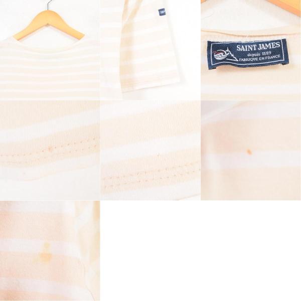 SAINT JAMES ボーダーTシャツ レディースS〜M 【中古】 【180416】 /waq4791 jamtrading1 03