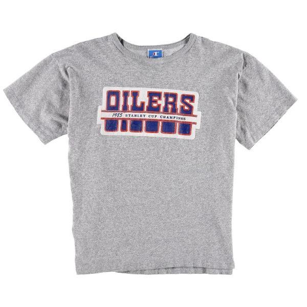 80ã90年代 ãã£ã³ããªã³ Champion NHL EDMONTON OILERS ã¨ãã¢ã³ãã³ãªã¤ã©ã¼ãº 88/12 ãããã ã¯ã³ãã¼ããã£ã¼ ééã ã中å¤ã ã190513ã /wbb6065ï½jamtrading1