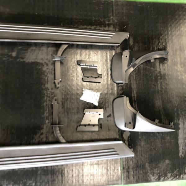 【特価】レンジローバーL322用社外サイドステップ左右セット&フロントマッドガード付属|jandl-automotive|05