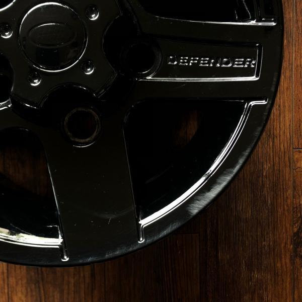 中古ディフェンダー用純正アルミホイール5本セット※ブラック塗装品|jandl-automotive|07