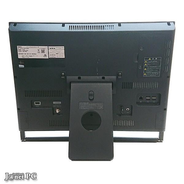 NEC VN770/JS 中古パソコン Windows8.1 21.5型フルHD液晶一体型 Core i7-3630QM 2.40GHz RAM8GB HDD2TB ブルーレイ 地デジ HDMI 無線LAN Office ブラック 2678|janetpc|02