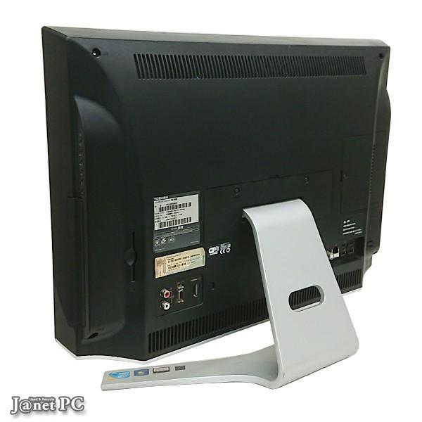 デスクトップパソコン 中古パソコン 液晶一体型 東芝 D710 or DX series  Windows10 Core i5 メモリ4GB HDD500GB ブルーレイ 21.5型 無線LAN office 2751|janetpc|02