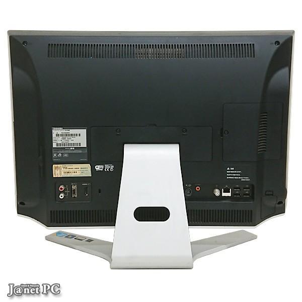 デスクトップパソコン 中古パソコン 液晶一体型 東芝 D710 or DX series  Windows10 Core i5 メモリ4GB HDD500GB ブルーレイ 21.5型 無線LAN office 2751|janetpc|03