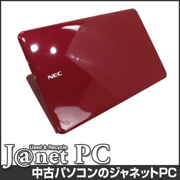NEC LS Series 中古ノートパソコン Windows10 15.6型ワイド液晶 Pentium P6200 2.13GHz メモリ4GB HDD500GB DVDマルチ HDMI 無線LAN Office付属 レッド 3252|janetpc|02