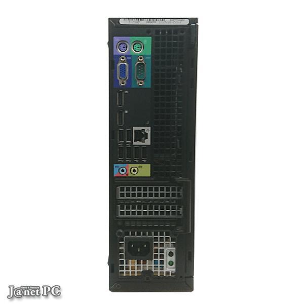 新品SSD240GB 中古パソコン Windows10 Core i5-3470 3.20GHz RAM4GB DVDマルチ 無線 DELL OPTIPLEX 7010  【3315】|janetpc|03