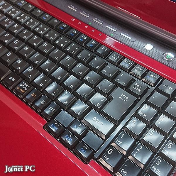 新品SSD240GB NEC LL or LS Series 中古ノートパソコン Windows10 15.6型ワイド Core i3-330M 2.13GHz メモリ4GB DVDマルチ HDMI 無線LAN Office付 レッド 3322|janetpc|03