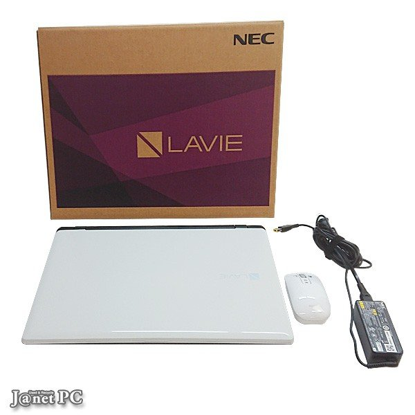 NEC SN17CJSA6-1 中古ノートパソコン Windows10 15.6型ワイド液晶 Celeron 3215U 1.70GHz メモリ8GB HDD500GB DVDマルチ HDMI 無線LAN Office付属 ホワイト 3336|janetpc|03