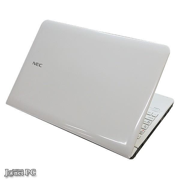 NEC LS550/HS1KW 中古パソコン Windows10 15.6型ワイド液晶 Core i5-3210M 2.50GHz メモリ4GB HDD640GB ブルーレイ HDMI 無線LAN Office クロスホワイト 3402|janetpc|03