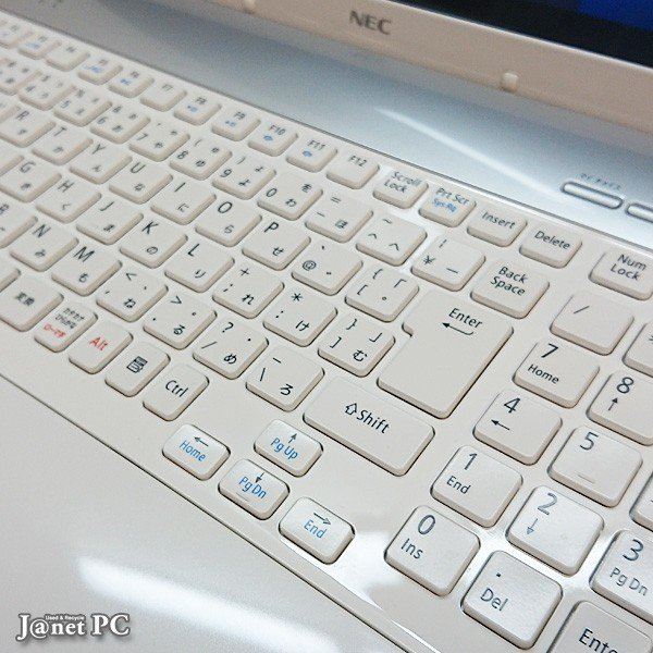 NEC LS Series 中古パソコン Windows10 15.6型ワイド液晶 Core i5-2410M 2.30GHz メモリ4GB HDD500GB ブルーレイ HDMI 無線LAN Office付属 ホワイト 3404|janetpc|02