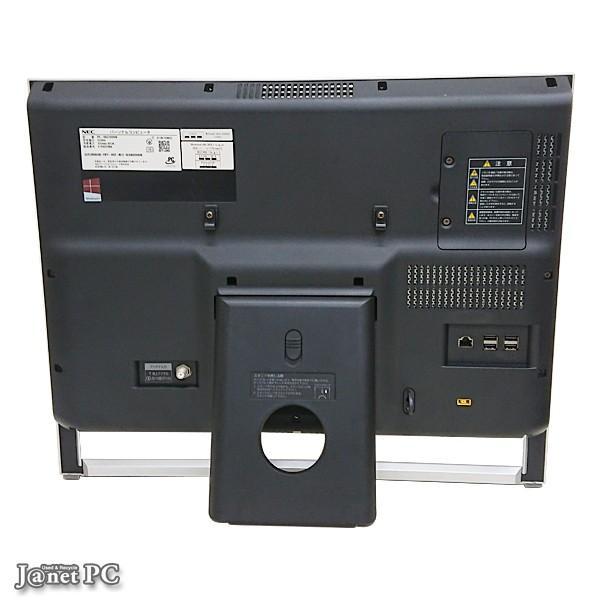 デスクトップパソコン 中古パソコン 液晶一体型 NEC VS370/RSW Windows10 Celeron 2955U 1.40Hz メモリ4GB HDD1TB DVDマルチ 21.5型 地デジ 無線LAN office 3605|janetpc|03