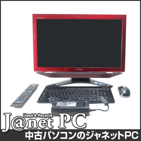中古パソコン Windows7 23型フルHD液晶一体型 Core i7-2670QM 2.20GHz RAM8GB HDD2TB ブルーレイ 地デジ 無線 Office付属 東芝 REGZA PC D731/T7ER【499】|janetpc|03