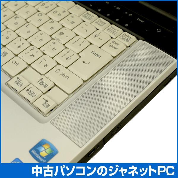 中古ノートパソコン Windows7 B級品特価 高性能モデル Core i5-520M 2.4GHz メモリ2GB HDD160GB DVD 無線LAN Office付属 富士通 E780/A|janetpc|06
