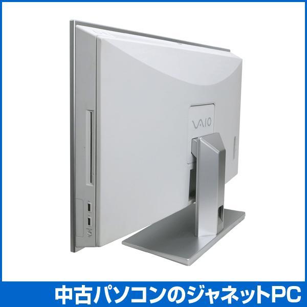 中古パソコン Windows7 24型フルHD液晶一体型 デスクPC Core2Duo E7200 2.53GHz RAM2GB HDD500GB ブルーレイ Office付属 無線 SONY VAIO typeL VGC-LV50DB|janetpc|04