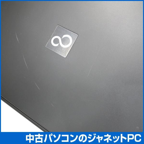 中古ノートパソコン Windows7 お手頃価格 Celeron 2.2GHz メモリ2GB HDD160GB DVD 無線LAN Office付属 富士通 A Series janetpc 04