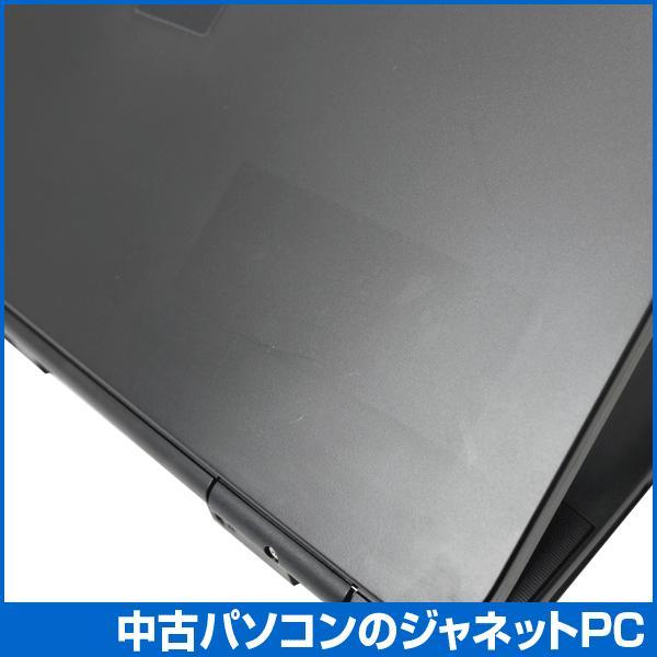 中古ノートパソコン Windows7 お手頃価格 Celeron 2.2GHz メモリ2GB HDD160GB DVD 無線LAN Office付属 富士通 A Series janetpc 05