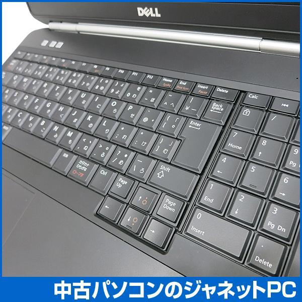 中古ノートパソコン Windows7 Celeron B840 1.90GHz メモリ2GB HDD250GB DVD-ROM テンキー 無線LAN Office付属 DELL Latitude E5520|janetpc|05