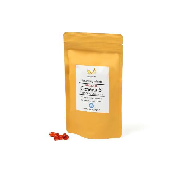 EPA DHA アスタキサンチン含有クリルオイル 目安15~30日分 KRILL OIL Omega3|japan-supplements