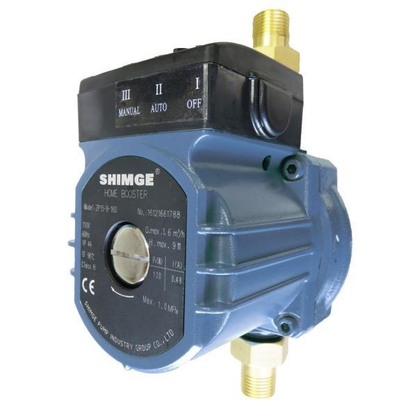 給湯・給水加圧ポンプ(ZP15-9-160g)流量スイッチ式/最大出力120W/単相110V japanecol 05