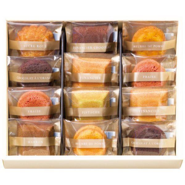 内祝い 内祝 お返し スイーツ ギフト フィナンシェ 焼き菓子 詰合せ グランリュクス12箱 セット BM-C (12)【納期:約14日】