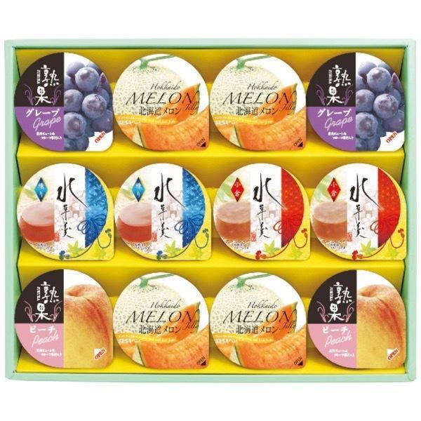 お中元 御中元 2021 金澤兼六製菓ゼリー ギフト 高級 ゼリー 詰め合わせ 和菓子 金澤兼六製菓 12個 サマーギフト AKK-15 食品