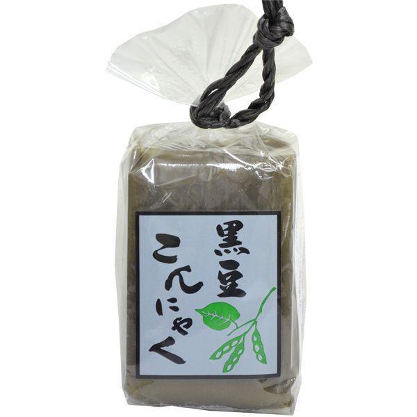 【商品お届けまで最大約2週間】黒豆豆腐こんにゃく (250g×2)