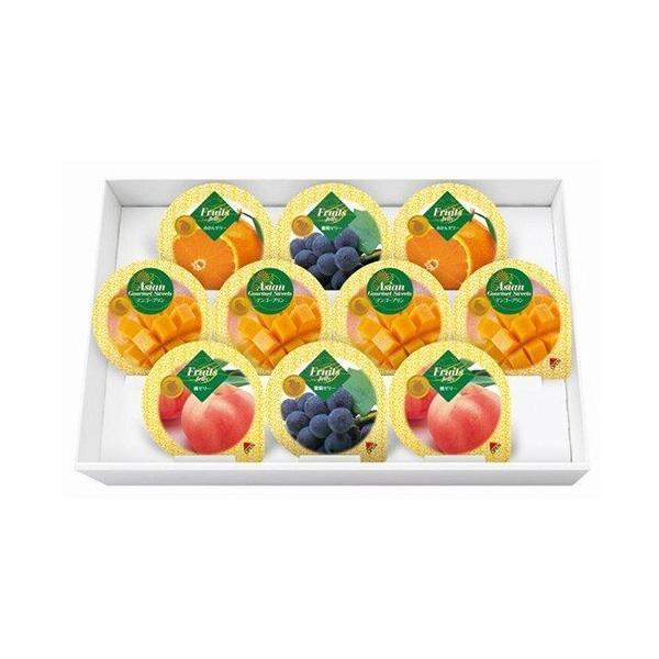 ゼリー 詰め合わせ ギフト スイーツ 高級 おしゃれ 内祝い 内祝 お返し 金澤兼六製菓 マンゴープリン&フルーツゼリーギフト 10個 MF-10 (12)
